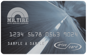Drive Card example